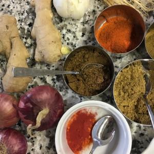 Afrika Kochabend Indien 22-06-18